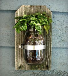 Mason Jar Wall Organizer – 1 Jar | Home Decor | Tickled Pink | Scoutmob Shoppe | Product Detail
