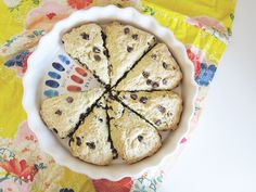 Vegan Chocolate Chip Scones - Vegetarian  Vegan Recipes