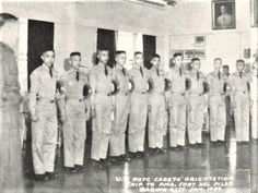 UP Diliman ROTC visits the Philippine Military Academy, 1949 #kasaysayan #pinoy #classpicture Rotc, Class Pictures, Military Academy, Pinoy, Over The Years, Philippines