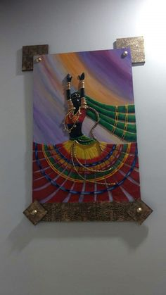 Mural Painting, Ceramic Painting, Mural Wall Art, Fabric Painting, Paintings, Murals, Rajasthani Art, Clay Wall Art, Clay Art Projects