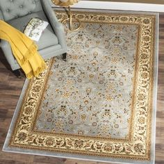 Shop for Safavieh Lyndhurst Traditional Oriental Light Blue/ Ivory Rug (8' x 10'). Get free shipping at Overstock.com - Your Online Home Decor Outlet Store! Get 5% in rewards with Club O!