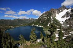 Cream Lake Viewpoint - Bedwell Lake Trail Guide - photos & guide by Lonny Barr