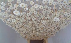 1000 Dandelions instillation by German artist Regine Ramseier