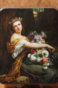 Girl With Flowers. 2010. Natalia CHIGNYAK