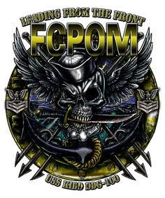 Get the amazing detail you deserve with this USS Kidd FCPOM Shirt! Us Navy Shirts, Navy Military, Military Shirt, Military Life, Navy Rates, Mount Whitney, Navy Day, Harley Davison, Flash Art