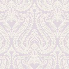 Beacon House Imperial Modern Damask Wallpaper Lavender - 2535-20624