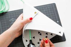 cone pendant DIY kit