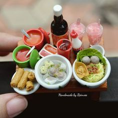 Miniaturas - Comida China