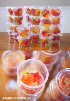 21st Birthday Celebration - Rummy Bears.  The finished product. My Pinterest board comes to life.