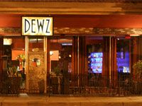 Dewz Restaurant - Modesto. They have a fairly extensive wine list that occasionally shows up on the Wine Spectator's lists. Amazing customer service!
