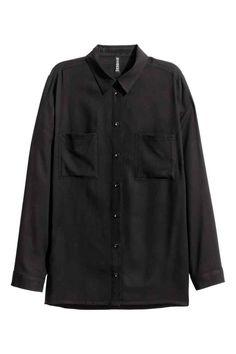 Рубашка из вискозы | H&M