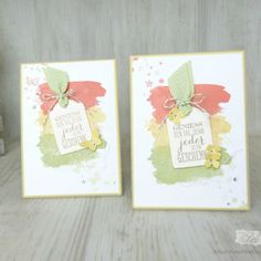 stampin' up! stampinupgermany wimpeleien handmadecards handmade stempelliebe calypso farngrün safrangelb