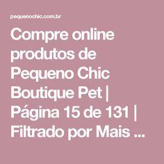 Compre online produtos de Pequeno Chic Boutique Pet   Página 15 de 131   Filtrado por Mais Vendidos
