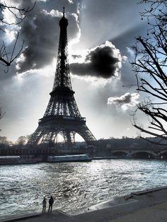 La Dama, siempre presente... #Paris