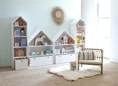 Muebles infantiles inspirados en casitas
