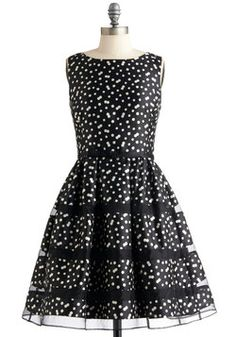 Rosé Bubbly Dress in Noir...ModCloth. I think this is so Jane on Jane by Design!!