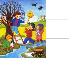 Картинки времена года для детей | Детское развитие steshka.ru wiosna
