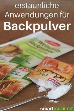 15 ungewöhnliche Anwendungen für Backpulver