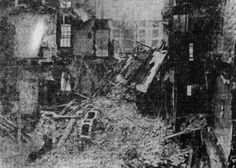 Tenement collapse Chandlers Lane Dublin, Ireland 1913