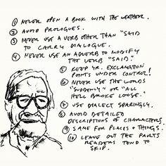 Some excellent tips for writing prose.