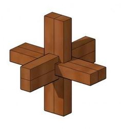 fabriquer un noeud du diable casse tete en bois 0