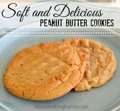 My Favorite Peanut Butter Cookie Recipe