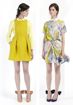 Oh man. I love this whole collection! Carven 2012 Resort
