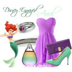 """Ariel- Engaged"" by sambapanda on Polyvore"