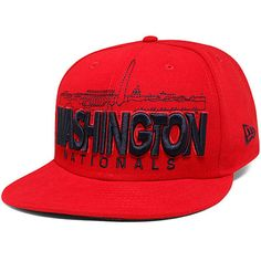 b97f31ba437 Washington Nationals New Era City Series 59FIFTY Fitted Hat - Red