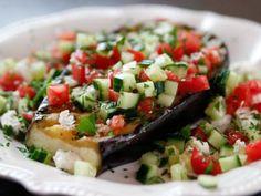 Greek Grilled Eggplant Steaks Recipe | Ree Drummond | Food Network