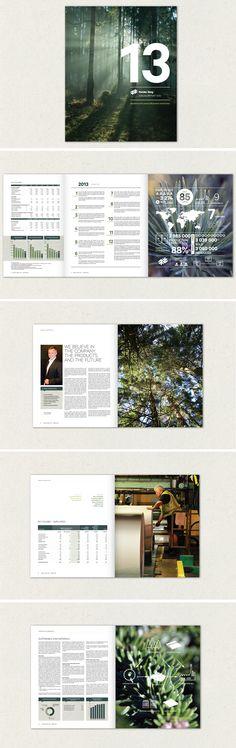 Norske Skog annual report 2013. Pan2ne design