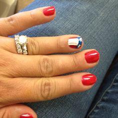 4th of July nails juli nail, party nails