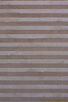 Striped concrete wall