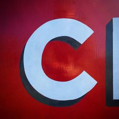 C for Canal. Hand painted barge type. by stjudes