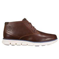 Timberland - Chaussures Bradstreet Plain Toe Chukka Homme - Marron