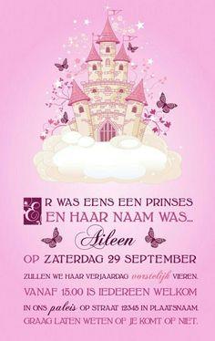 Uitnodiging prinses