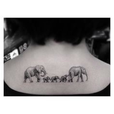 """Pin for Later: 14 Tattoo Ideas For Parents Wanting to Honor Their Kids Family """"Portrait"""""""