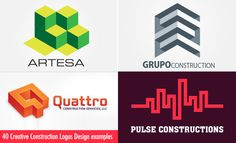 40 Creative Construction Logos Design examples for your inspiration. Read full article: http://webneel.com/construction-logos | more http://webneel.com/logo-design | Follow us www.pinterest.com/webneel
