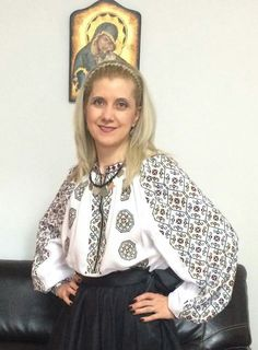 Folk Embroidery, Scarfs, Detail, Blouse, Beautiful, Tops, Women, Fashion, Folklore