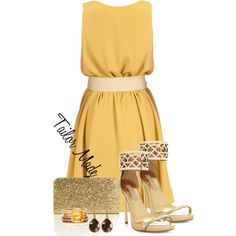 Gold by taliormade on Polyvore