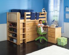 My son really wants a bunk bed