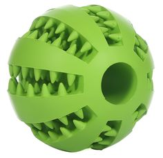 GeLivable Dogs Cats Playing Chewing Iq Training Tooth Cleaning Ball Interactive Treats Rubber Ball Pet Toys,Green >>> Read more  at the image link. (This is an affiliate link and I receive a commission for the sales)