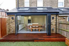 Home Renovation Backyard connector. House Extension Plans, House Extension Design, Extension Designs, Roof Extension, Extension Ideas, Garden Room Extensions, House Extensions, Kitchen Extensions, Modern Conservatory