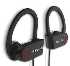 Bluetooth Earbuds TREBLAB XR100, True HD Sound Solid Bass Wireless Headphones Best For Sport Gym Running Workout 9 Hour Battery Microphone Noise Cancelling Sweat-Proof Earphones Zippered Case Included Review - http://reviewsv.com/bluetoothheadsets/bluetooth-earbuds-treblab-xr100-true-hd-sound-solid-bass-wireless-headphones-best-for-sport-gym-running-workout-9-hour-battery-microphone-noise-cancelling-sweat-proof-earphones-zippered-case-included/