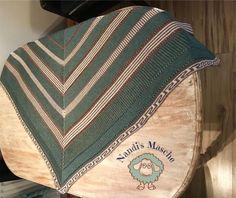 Tuch Soul Blanket, Brioche, Threading, Breien, Rug, Blankets