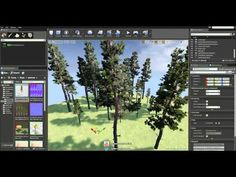 SpeedTree Tutorial - Wind inside Unreal Engine 4 - YouTube
