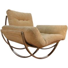 Vintage Italian chair ~ designer unknown