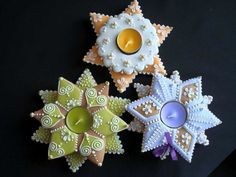 / Advent, Sugar Art, Biscotti, Christmas Cookies, Martini, Food And Drink, Ornaments, Holiday, Gingerbread Houses