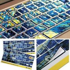 Keyboard Skin Cover Decal Art Sticker Protector for Macbook Pro 13 15 17 Air 13 Macbook Desktop, Macbook Pro 13, Macbook Keyboard Decal, Keyboard Cover, Laptop Covers, Dell Laptop Skin, Iphone 5s Screen, New Ipad Pro, Dell Laptops