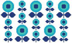 Etsy の Cross Stitch Pattern 'Make a Wish' PDF by HollieHarris